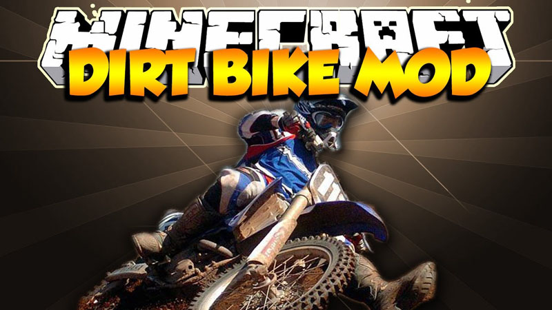 the-dirtbike-mod-1-7-10-motocross-in-minecraft The Dirtbike Mod 1.7.10 (Motocross in Minecraft)