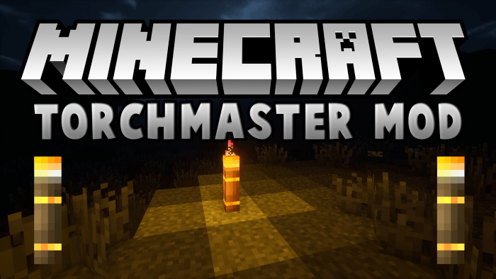 Torch Master Mod for Minecraft Logo
