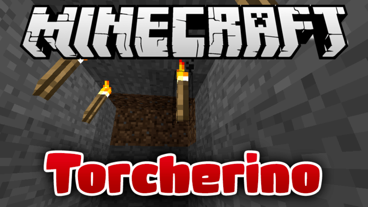Torcherino mod for minecraft logo