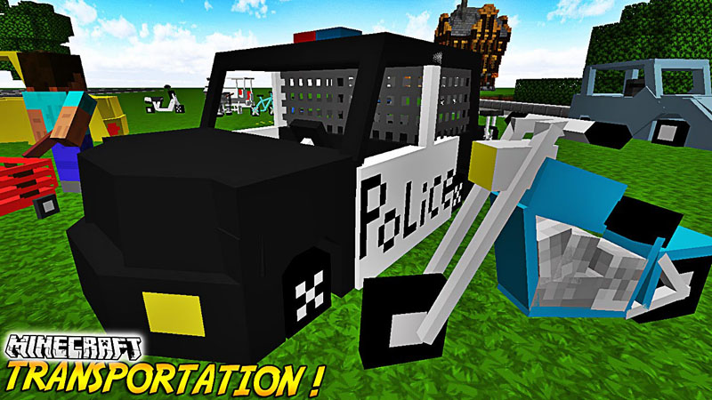 transportation-mod-1-10-21-7-10-crazy-vehicles Transportation Mod 1.10.2/1.7.10 (Crazy Vehicles)