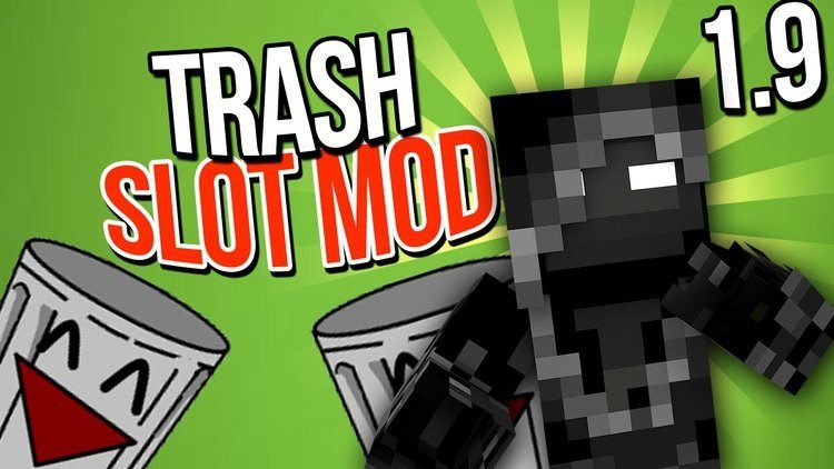 Trash Slot Mod for Minecraft 0