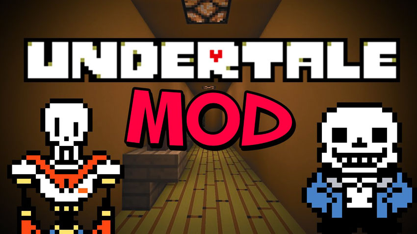 undertale-mod-1-10-21-8-9-for-minecraft Undertale Mod 1.10.2/1.8.9 for Minecraft