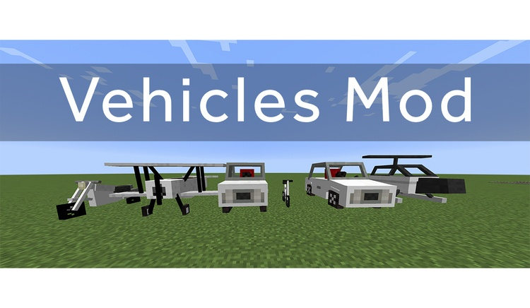 vehicles-mod-1-11-21-10-2-for-minecraft Vehicles Mod 1.11.2/1.10.2 for Minecraft
