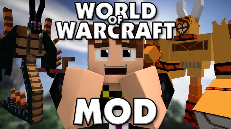 world-of-warcraft-mod-1-7-10-wow-in-minecraft World of Warcraft Mod 1.7.10 (WoW in Minecraft)