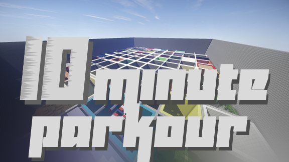 10-minute-parkour-2-0-map-for-minecraft-1-11-2 10 Minute Parkour 2.0 Map for Minecraft 1.11.2
