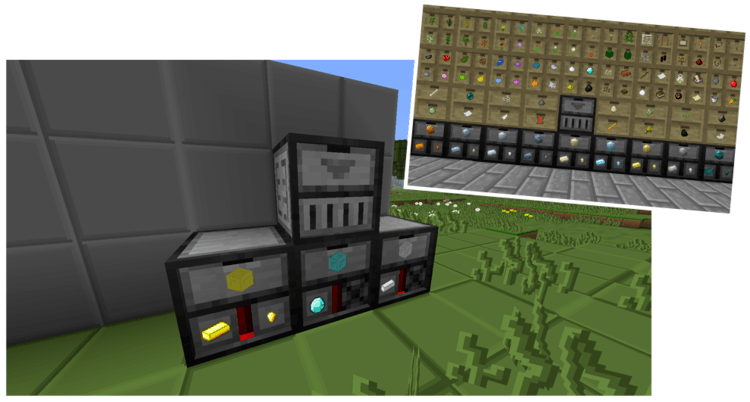 1491125139_237_storage-drawers-mod-1-11-21-10-2-for-minecraft Storage Drawers Mod 1.11.2/1.10.2 for Minecraft