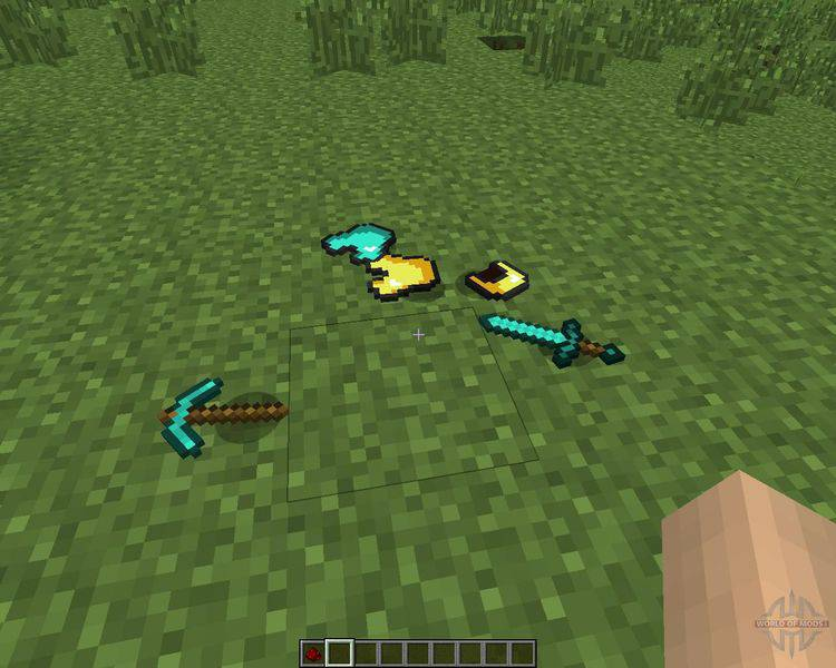 Item Physic Mod for Minecraft 1