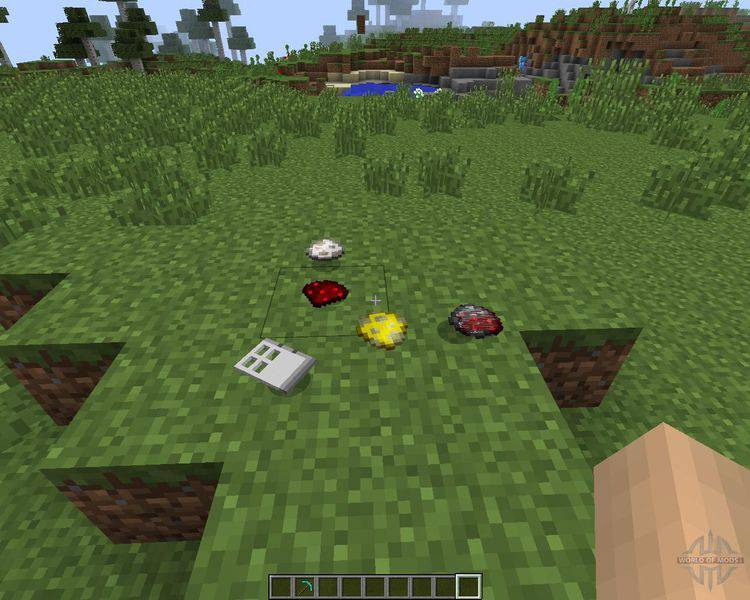 Item Physic Mod for Minecraft 2