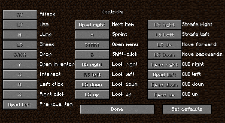1491605976_898_joypad-mod-1-11-21-10-2-for-minecraft Joypad Mod 1.11.2/1.10.2 for Minecraft
