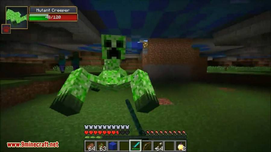 1491710284_50_mutant-creatures-mod-1-7-10-giant-monsters Mutant Creatures Mod 1.7.10 (Giant Monsters)