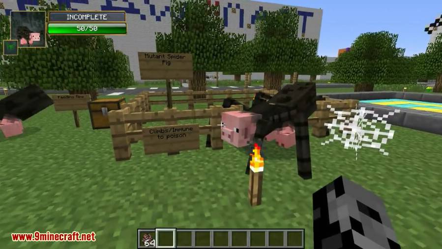 1491710288_304_mutant-creatures-mod-1-7-10-giant-monsters Mutant Creatures Mod 1.7.10 (Giant Monsters)