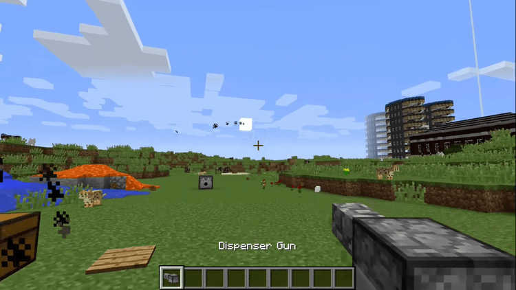 dispenser gun mod for minecraft 04