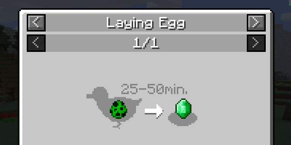 Chickens Mod for Minecraft Lay