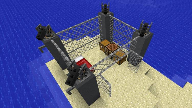 open modular turrets mod for minecraft 04
