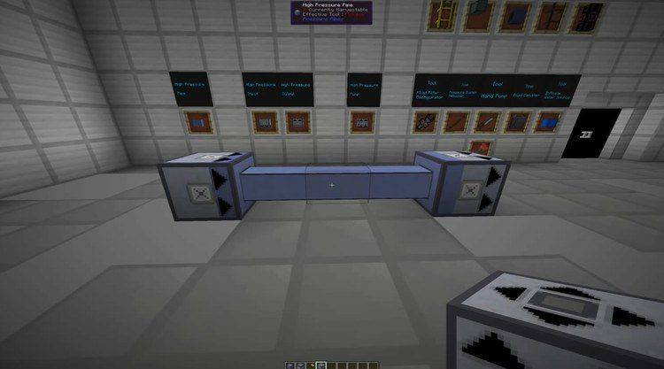 High-Pressure Pipes Mod 1.11/1.10.2 for Minecraft (Unlimited input/output) 1