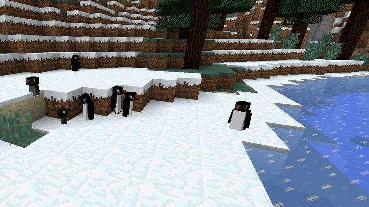 1492165800_134_waddles-penguins-mod-1-11-21-10-2-for-minecraft Waddles (Penguins) Mod 1.11.2/1.10.2 for Minecraft