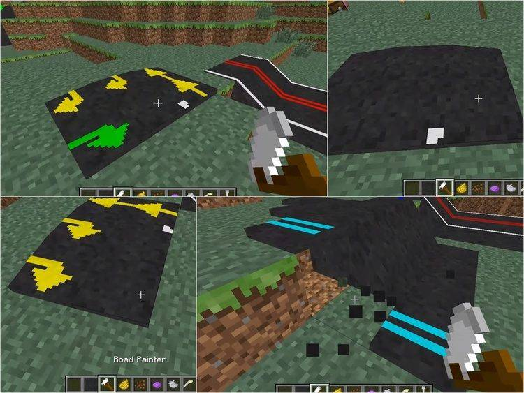 1492293453_170_roads-mod-for-minecraft-1-11-21-10-2 Roads Mod for Minecraft 1.11.2/1.10.2