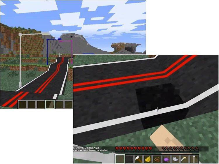 1492293453_450_roads-mod-for-minecraft-1-11-21-10-2 Roads Mod for Minecraft 1.11.2/1.10.2