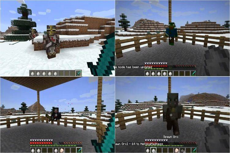 1492324843_732_mob-party-mod-for-minecraft-1-11-21-10-2 Mob Party Mod for Minecraft 1.11.2/1.10.2