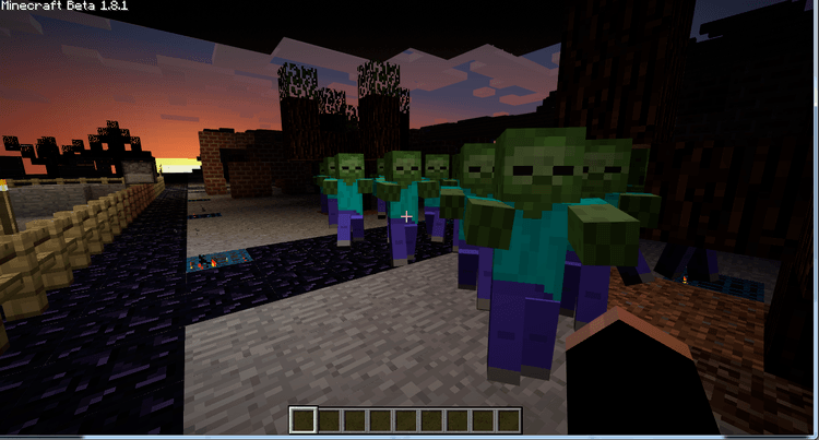 Zombie Awareness Mod 1.11.2/1.10.2 for Minecraft