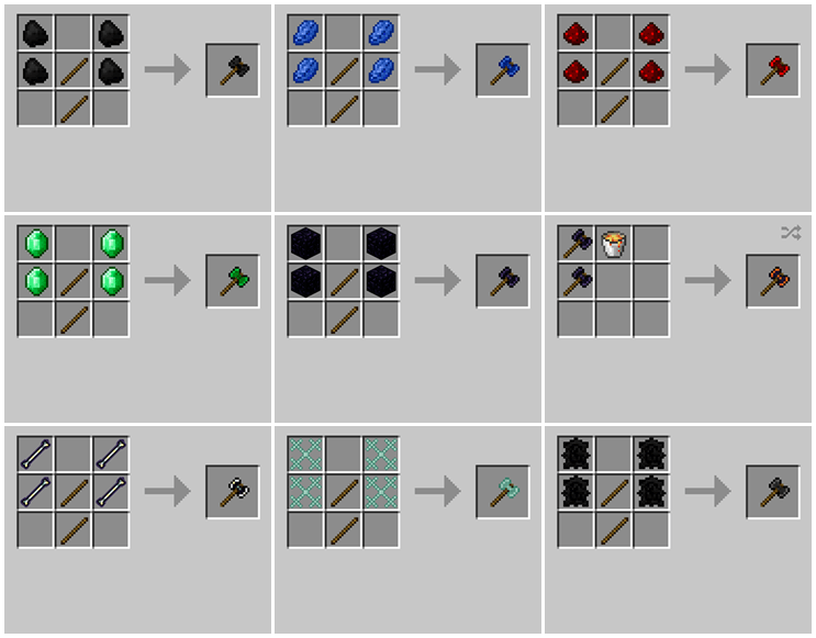 1492409279_678_weapons-plus-mod-for-minecraft-1-11-21-10-2 Weapons Plus Mod for Minecraft 1.11.2/1.10.2