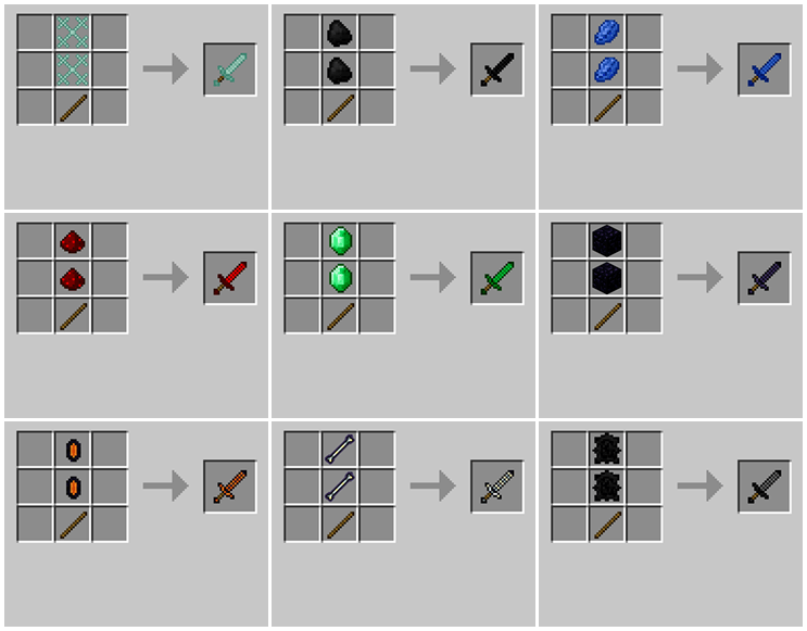 1492409279_887_weapons-plus-mod-for-minecraft-1-11-21-10-2 Weapons Plus Mod for Minecraft 1.11.2/1.10.2
