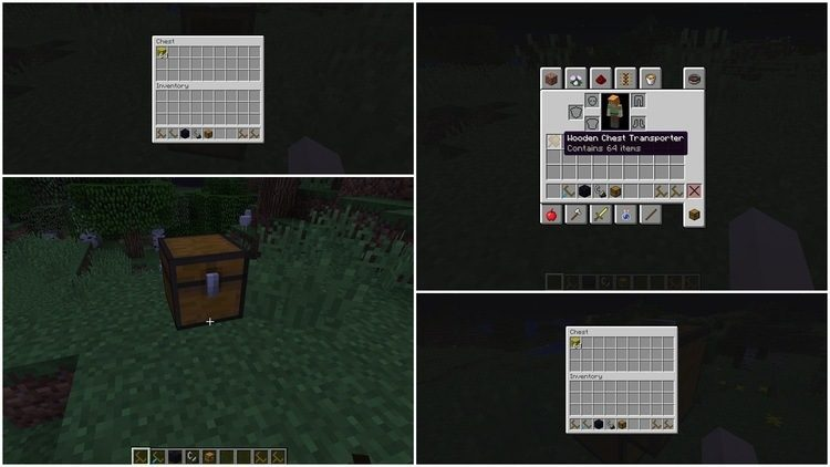 1492596416_542_chest-transporter-mod-1-11-21-10-2-for-minecraft Chest Transporter Mod 1.11.2/1.10.2 for Minecraft