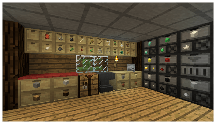 1492607357_440_storage-drawers-forestry-mod-1-11-21-10-2-for-minecraft Storage Drawers: Forestry Mod 1.11.2/1.10.2 for Minecraft