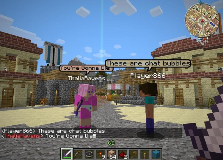1492637402_459_chat-bubbles-mod-1-11-21-10-2-for-minecraft-like-mmorpgs-game Chat Bubbles Mod 1.11.2/1.10.2 for Minecraft (Like MMORPGs game)