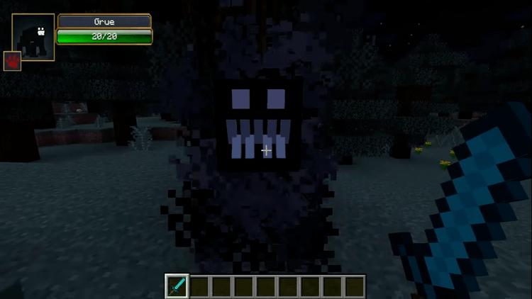 1492850492_626_grue-mod-1-11-21-10-2-add-darkness-monster-to-minecraft Grue Mod 1.11.2/1.10.2 – Add Darkness Monster to Minecraft