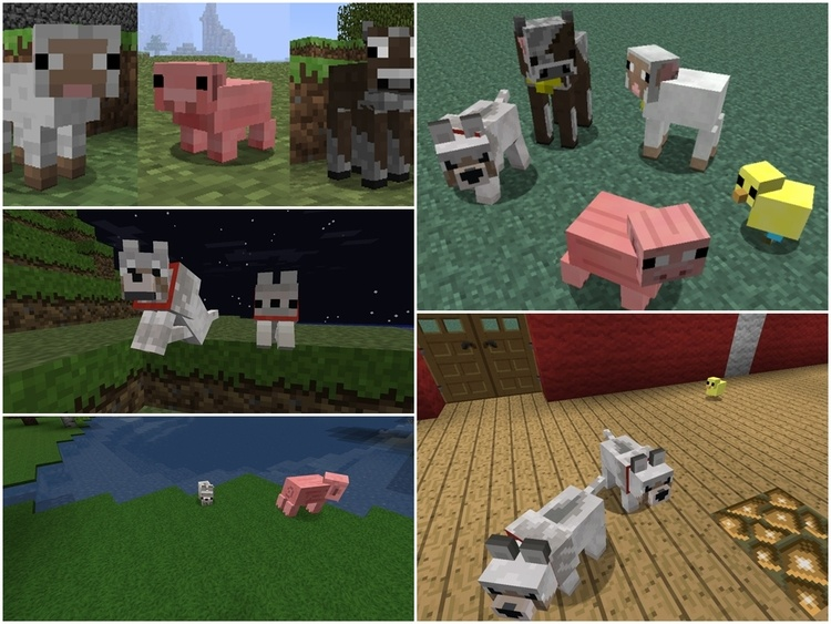1492908090_345_baby-animals-model-swapper-mod-1-11-21-10-2-for-minecraft Baby Animals Model Swapper Mod 1.11.2/1.10.2 for Minecraft