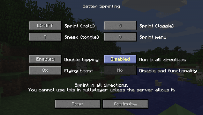 1493060714_176_better-sprinting-mod-for-minecraft-1-11-21-10-2 Better Sprinting Mod for Minecraft 1.11.2/1.10.2