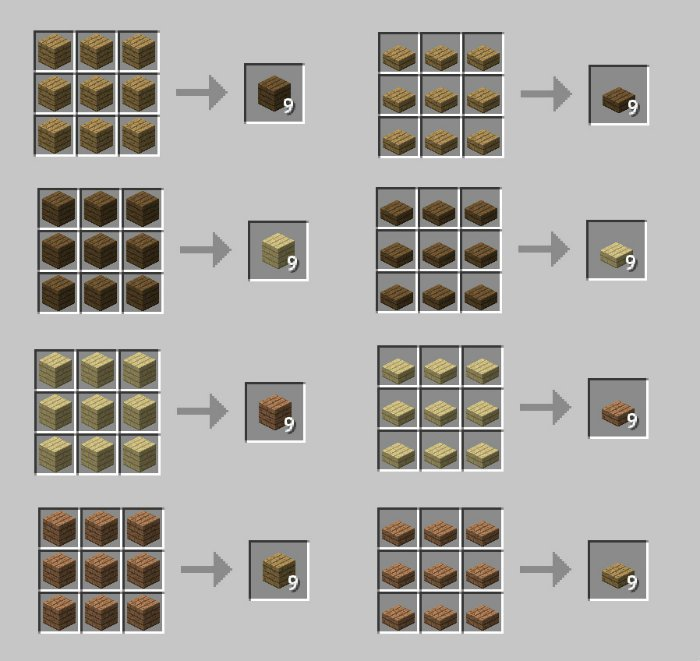 1493062465_21_wood-converter-mod-for-minecraft-1-11-21-10-2 Wood Converter Mod for Minecraft 1.11.2/1.10.2
