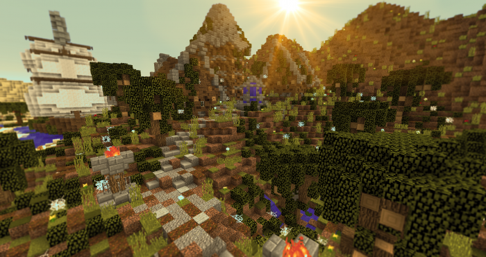 1493144015_797_battle-of-gods-map-for-minecraft-1-11-2 Battle of Gods Map for Minecraft 1.11.2