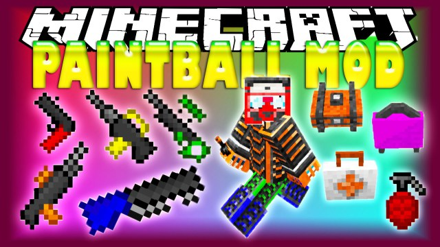 1493495787_373_paintball-mod-for-minecraft-1-111-10-2 Paintball Mod for Minecraft 1.11/1.10.2
