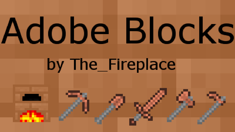 adobe-blocks-2-mod-1-11-21-10-2-for-minecraft Adobe Blocks 2 Mod 1.11.2/1.10.2 for Minecraft