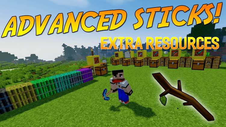 advanced-sticks-extra-resources-mod-1-11-21-10-2-for-minecraft Advanced Sticks Extra Resources Mod 1.11.2/1.10.2 for Minecraft