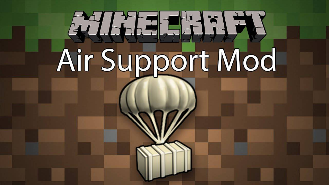 air-support-mod-1-11-21-10-2-for-minecraft Air Support Mod 1.11.2/1.10.2 for Minecraft