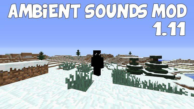 ambient sounds mod for minecraft logo