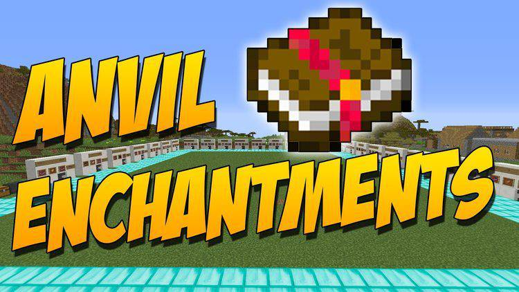 Anvil Enchantments mod for minecraft logo