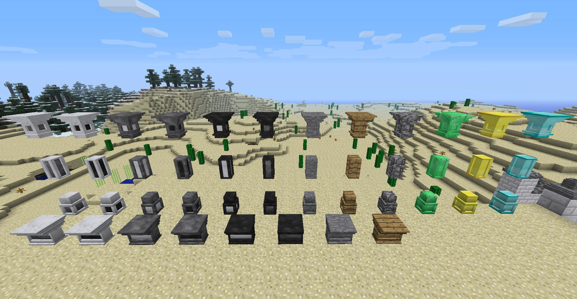 auto-draft-13794-3 Decorative Marble and Decorative Chimneys Mod 1.7.10/1.6.4