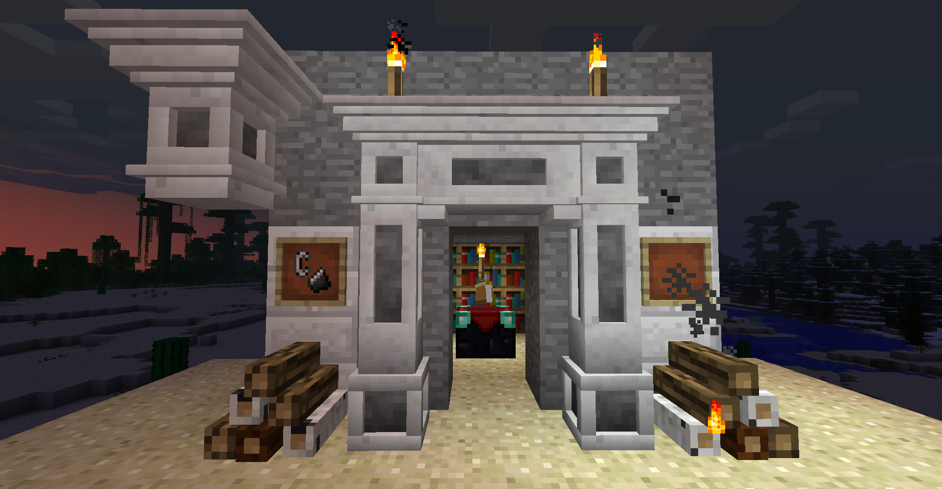 auto-draft-13794-4 Decorative Marble and Decorative Chimneys Mod 1.7.10/1.6.4