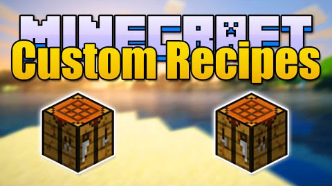 auto-draft-14137 Custom Recipes Mod 1.8.8/1.7.10