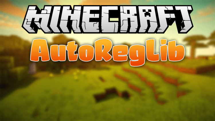 autoreglib-mod-1-11-21-10-2-for-minecraft AutoRegLib Mod 1.11.2/1.10.2 for Minecraft