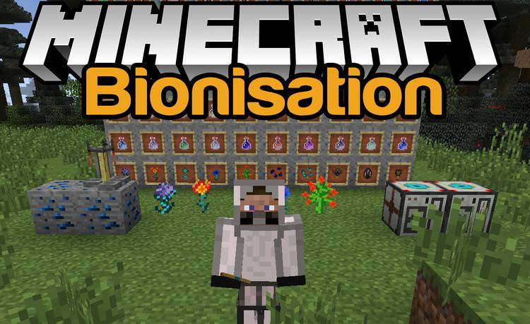 bionisation-mod-1-7-10-for-minecraft Bionisation Mod 1.7.10 for Minecraft