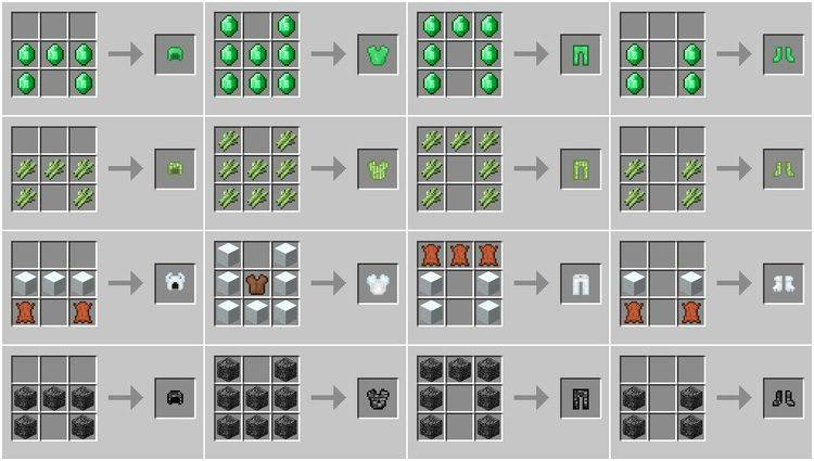 Block Armor Mod 1 11 2 1 10 2 For Minecraft