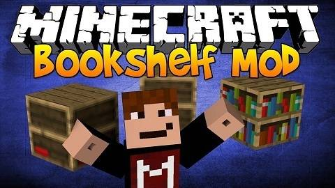 Bookshelf Mod for Minecraft Logo