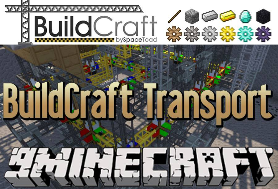 buildcraft-transport-module-1-8-91-7-10 BuildCraft Transport Module 1.8.9/1.7.10