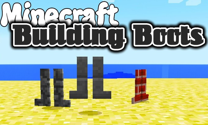 building-boots-mod-1-7-10-for-minecraft Building Boots Mod 1.7.10 for Minecraft