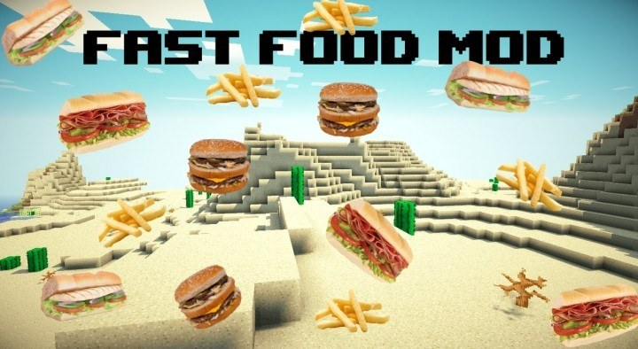 calopteryxs-fast-food-mod-1-11-21-10-2-for-minecraft Calopteryx's Fast Food Mod 1.11.2/1.10.2 for Minecraft